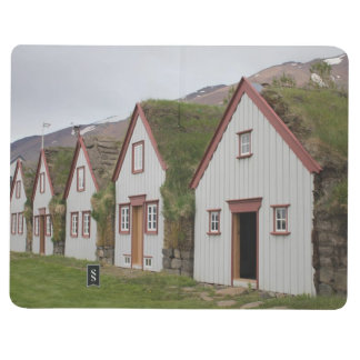 Note Book With Icelandic Houses and Church Picture Journals