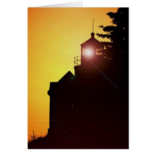 Note Card -Bass Harbour Light