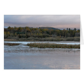 Note Card: Kinnordy Loch in Autumn Frost Card