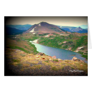 Note  Card Scene Beautiful Yellowstone River