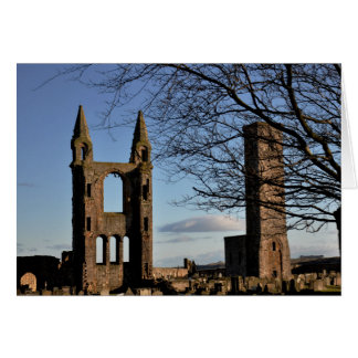 Note Card: St Andrews Cathedral Scotland Card
