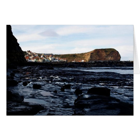 Note Card - Staithes Harbour, Yorkshire