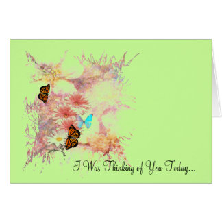 """Note Card """"Thinking of You"""""""