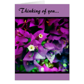 """Note card, """"Thinking of You..."""" Card"""