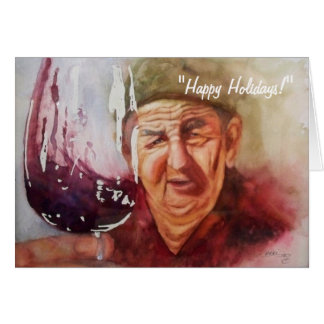 "Note Card - ""Winemaker Papa"""
