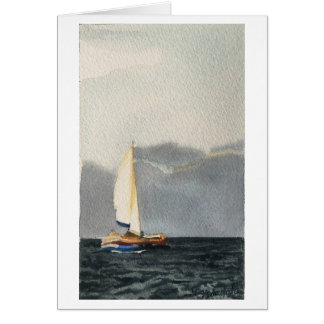 Note card with Sailboat