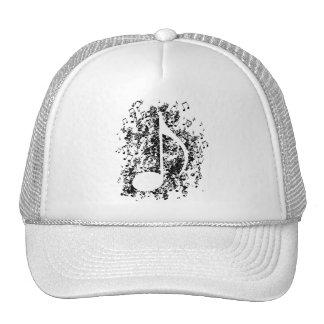 Note Explosion Trucker Hat