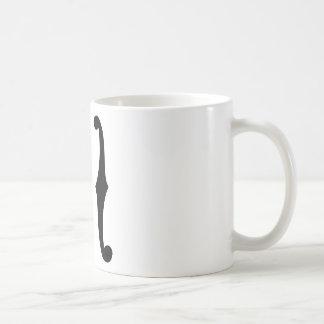 Note f holes coffee mug