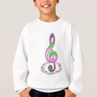 Note music sweatshirt