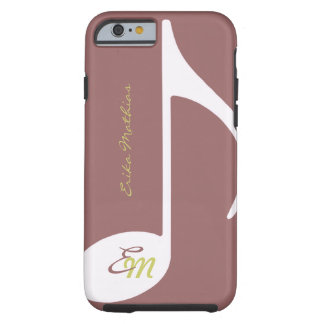 note musicale féminine coque tough iPhone 6