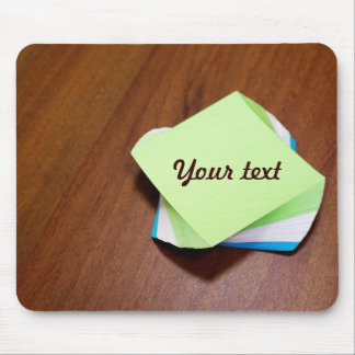 Note paper mouse pad