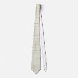 Note Paper Tie