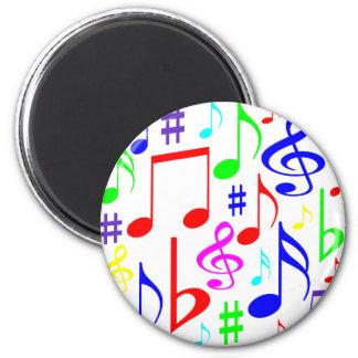 note rainbow magnet