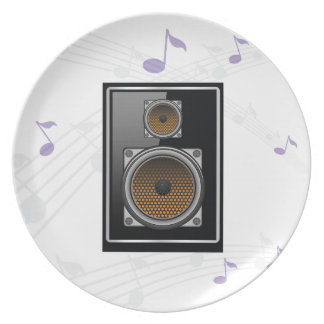 note speaker plate