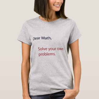 Note to Math T-Shirt