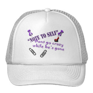 Note to self Hat