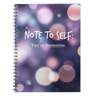 Note to Self Inspiration Journal