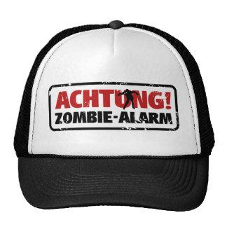 Note! Zombie alarm Trucker Hat