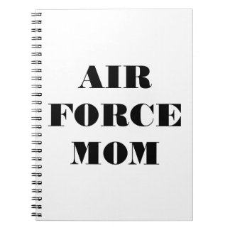 Notebook Air Force Mom