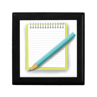 notebook and pencil gift box