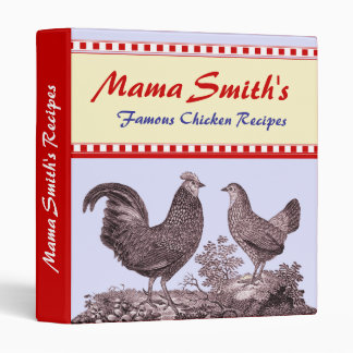Notebook Binder for Your Favorite Chicken Recipes