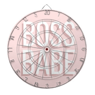 Notebook BOSS BABE Journal in Pink Dartboard