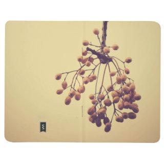 Notebook diary moleskine style beig office school journals