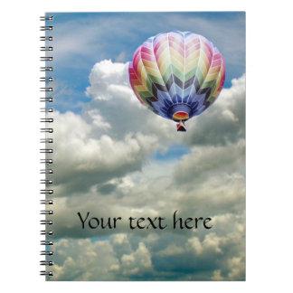 Notebook - Hot Air Balloon