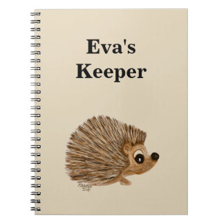 Notebook keeper personalize it, name or subject