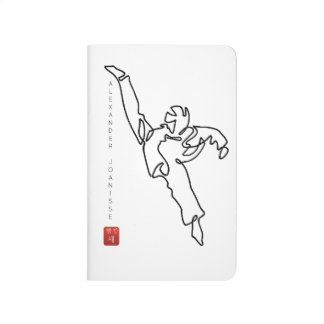 Notebook of pocket TAEKWONDO DWICHAGI back kick