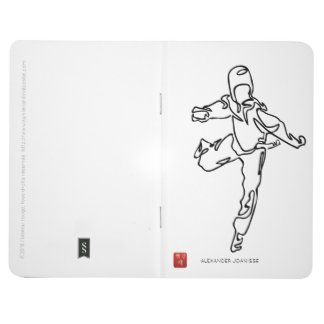 Notebook of pocket TAEKWONDO DWICHAGI back kick 02