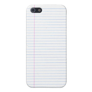 """""""Notebook Paper"""" Speck Case iPhone 5 Cover"""