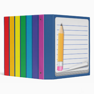 Notebook & Pencil - Customize This Teacher Binder