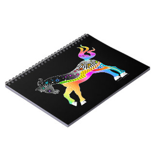 NOTEBOOK, Pop Art HORSE Spiral Note Books