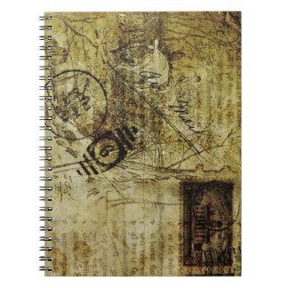notebook postal