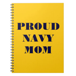 Notebook Proud Navy Mom