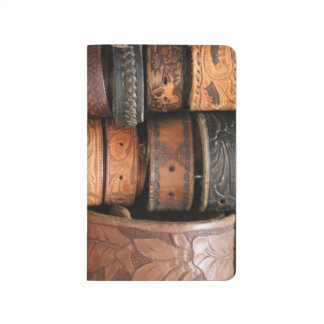 Notebook Rancho Del Vinedos Temecula leather belts
