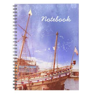 "Notebook ""Sailing Ship"""