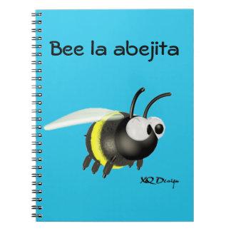 Notebook spiral Bee