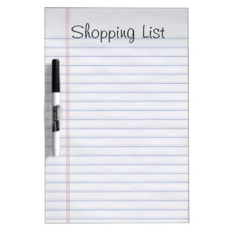 Notebook Style Dry Erase Board