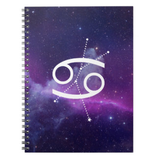 Notebook the Zodiac Cancer (Violet)
