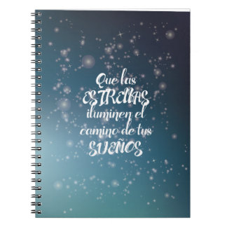 Notebook to point and to secure the dreams