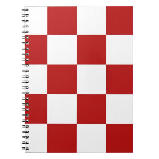Notebook Vintage Cafe Tablecloth Checkerboard Chex