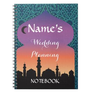 Notebook Wedding Planning Arabian Nights Moroccan