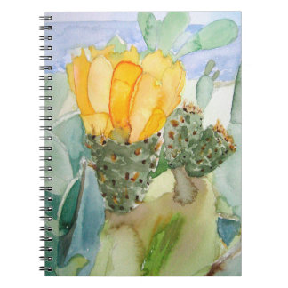 Notebook with bigeye tuna in flower