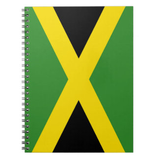 Notebook with Flag of Jamaica