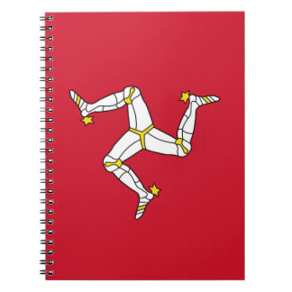 Notebook with Isle of Man Flag, United Kingdom