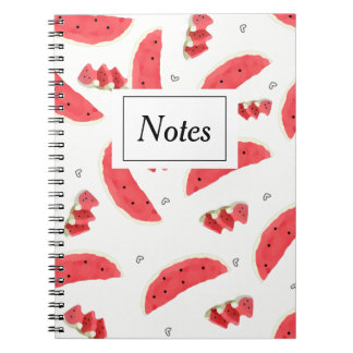 Notebook with photo Water melons