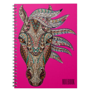 Notebook with photograph (80 pages with black
