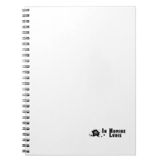 Notebook with photograph (80p with black lines)